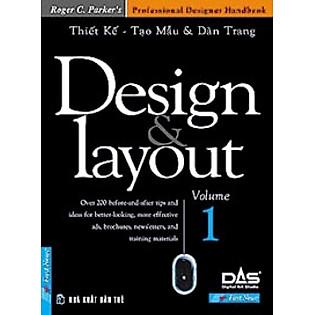 Design Layout Volume 1 (Thiết Kế Tạo Mẫu Và Dàn Trang)