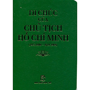 Di Chúc Của Chủ Tịch Hồ Chí Minh (Sách Bỏ Túi)