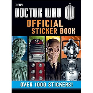 Doctor Who: Official Sticker Book (Paperback)