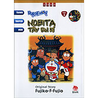 Doraemon Tranh Truyện Màu - Tập 3