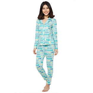 Đồ Bộ Pyjama Labelle DP2 - Xanh