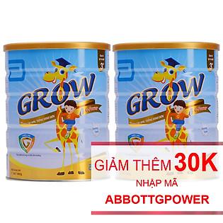 Combo 2 Sữa Bột Abbott Grow G-Power Vanilla GGM Dành Cho Trẻ Từ 3 – 6 Tuổi (900G)