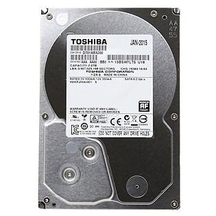 Ổ Cứng Trong PC Toshiba AV 2TB - 3.5″/SATA3/5700Rpm/32MB