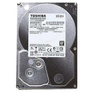 Ổ Cứng Trong PC Toshiba AV 3TB - 3.5″/SATA3/5700Rpm/32MB