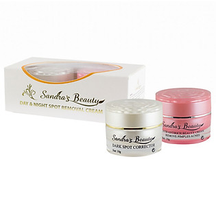 Bộ 2 Kem Nám Sandra Day & Night  Spost Removal Cream - Beaumore  HH064 (10G X 2)