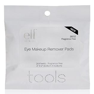Bông Tẩy Trang Mắt E.L.F. Essential Eye Makeup Remover Pads (24 Sheets) - 26012