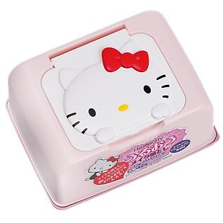 Hộp 42 Tờ Giấy Ướt Tẩy Trang LEC Hello Kitty E-343