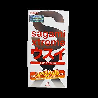 Bao Cao Su Sagami Super Thin - Hộp 2 Bao