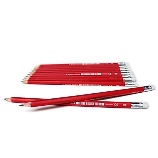 Bút Chì Edu3 Bleistift - HB (Có Gôm) - 1301008