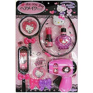 Bộ Đồ Chơi Tiệm Cắt Tóc Hello Kitty KT Hair Make-Up Set