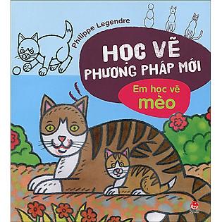 Học Vẽ Phương Pháp Mới - Em Học Vẽ Mèo