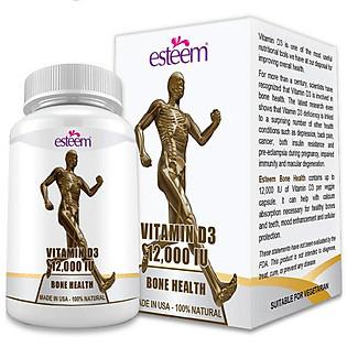 Thực Phẩm Chức Năng Viên Giúp Xương Chắc Khỏe Esteem Esteem Vitamin D3 (Hộp 60 Viên )