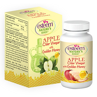 Viên Uống Giảm Cân Esteem Apple Cider Vinergar (Hộp 60 Viên )