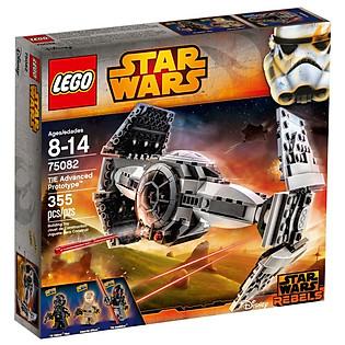 Mô Hình LEGO Starwars - Phi Thuyền Cao Cấp TIE 75082