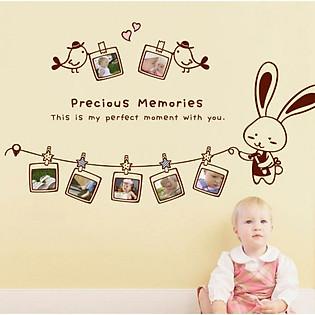 Decal Dán Tường Khung Ảnh Ninewall Precious-Memories FF009