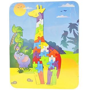 Ghép Hình Puzzle Tottosi - Hươu Cao Cổ 303008
