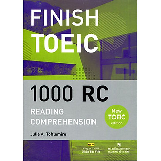 Finish Toeic Reading Comprehension (Kèm CD)