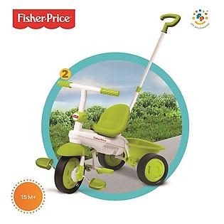 Xe Đạp 3 Bánh Cơ Bản Fisher Price Classic - 1460433 - Xanh