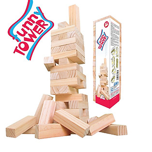 Đồ Chơi Rút Gỗ Mộc Vietoys Funny Tower