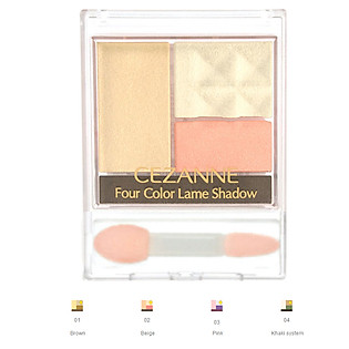 Phấn Mắt Four Color Lame Shadow Cezanne (3.8G)