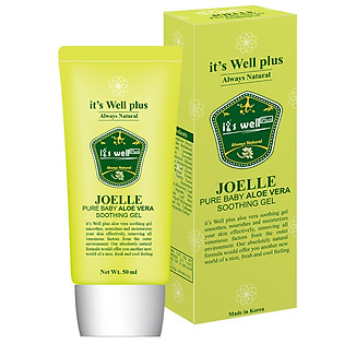 Gel Nha Đam Dưỡng Ẩm Mềm Mịn Da Joelle It's Well Plus (50Ml)