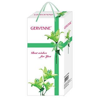 Hộp Quà Gervenne Sữa Tắm Trắng Da Hương Nước Hoa Lily 900G - 6015042