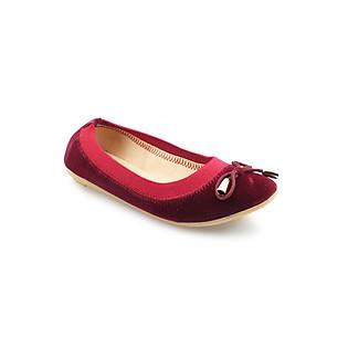 Giày Búp Bê Nữ G Alanti G15-727-156-R - Đỏ