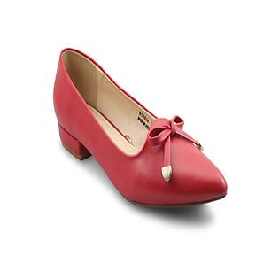 Giày Bít Nữ G Alanti GS14-133-40-RTM - Đỏ Tươi