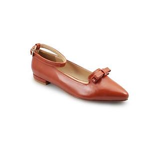 Giày Bít Nữ G Alanti GS14-248-163-C - Cam