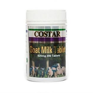 Thực Phẩm Chức Năng Viên Uống Sữa Dê Cô Đặc Costar Goat Milk Tablet 620Mg - Hộp 300 Viên