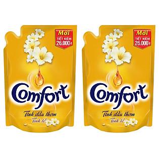 Combo 2 Comfort Đậm Đặc 1 Lần Xả Tinh Dầu Thơm Tinh Tế (1.6L) - 21082707