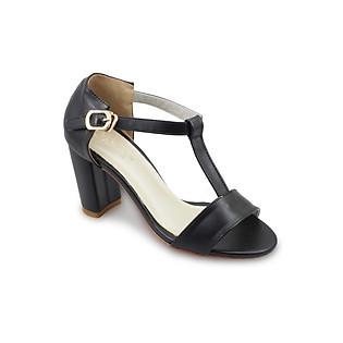 Giày Sandal Cao Gót G Alanti GS15-299-161-D - Đen