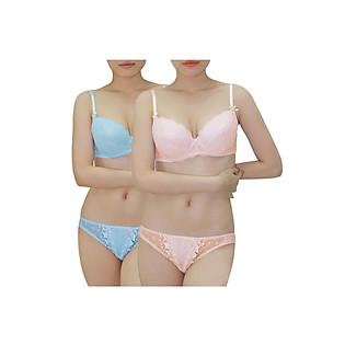 Combo 2 Áo Ngực Nữ Relax RBM009 - Hồng Cam Và Xanh Ngọc