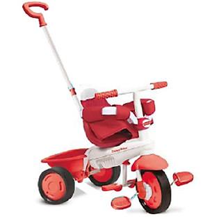 Xe Đạp 3 Bánh Cơ Bản Fisher Price Classic - 1460333 - Đỏ