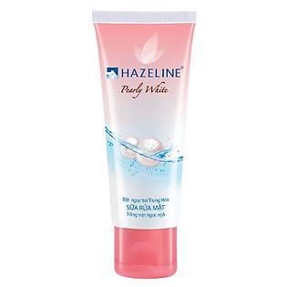 Sữa Rửa Mặt Hazeline Trắng Mịn Ngọc Ngà 50G