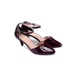 Giày Nữ Đế 5Cm Huy Hoàng HH7013 - Màu Nho