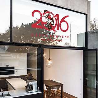 Decal Dán Tường Ninewall Year Of The Monkey HT025