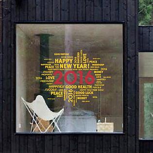 Decal Dán Tường Ninewall Love 2016 - HT028