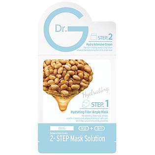 Mặt Nạ 2 Bước Dưỡng Ẩm Da Dr.G Hydrating Filler Ample Mask (20Ml - 3Ml)