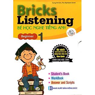 Bricks Listening Bé Học Nghe Tiếng Anh Tập 1 (Kèm Đĩa CD)