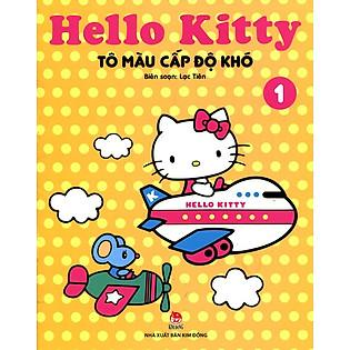 Hello Kitty - Sách Tô Màu Cấp Độ Khó (Tập 1)