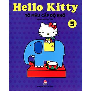 Hello Kitty - Sách Tô Màu Cấp Độ Khó (Tập 5)