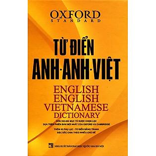 Từ Điển Oxford Anh - Anh - Việt (Bìa Cứng Vàng)