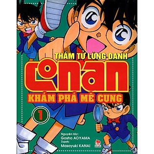 Thám Tử Lừng Danh Conan - Tập 1: Khám Phá Mê Cung (Tái Bản 2014)
