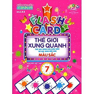 Flashcard Thế Giới Xung Quanh 7 - Màu Sắc