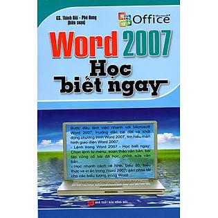 Word 2007: Học Biết Ngay