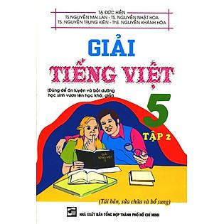 Giải Tiếng Việt Lớp 5 (Tập 2)