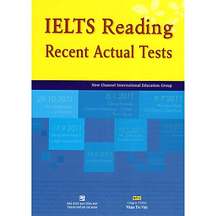 IELTS Reading - Recent Actual Tests