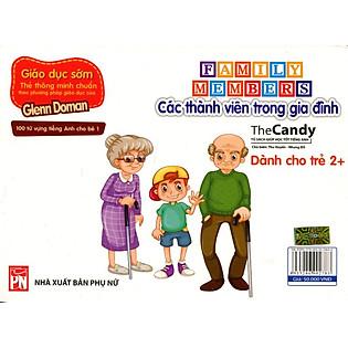 Flashcard Dạy Trẻ Theo Phương Pháp Glenn Doman - Các Thành Viên Trong Gia Đình