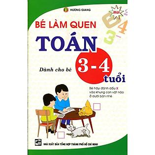 Bé Làm Quen Toán Dành Cho Bé 3 - 4 Tuổi